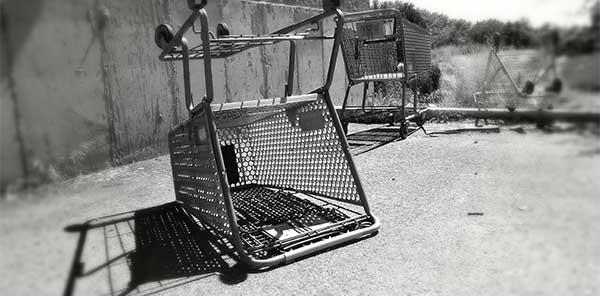 carritos abandonados